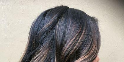 15 Stylish Dark Hair Balayage Ideas - Styleoholic