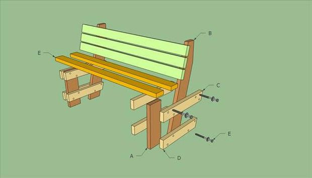 How To Build Pallet Bench
